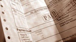 Financial Invoice Stock Photos