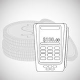 Financial item design. money icon. Flat illustration,  graphic Stock Photos
