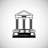 Financial item design. money icon. Flat illustration,  graphic Stock Photography