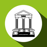 Financial item design. money icon. Flat illustration, vector graphic Royalty Free Stock Photo