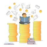 Financial literacy concept. Royalty Free Stock Photos