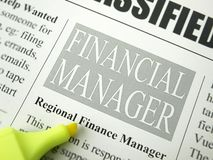 Financial Manager Royalty Free Stock Photo
