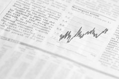 Financial market analysis royalty free stock photos