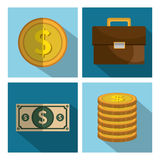 Financial market graphic Royalty Free Stock Image