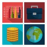 Financial market graphic. Design, vector illustration eps10 Royalty Free Stock Photos