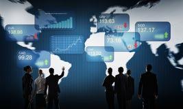 Financial market Stock Photo
