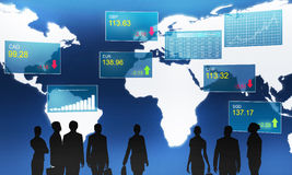 Financial market Royalty Free Stock Photo