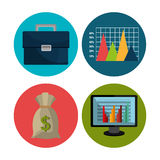 Financial market and investments Stock Photography