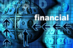 Financial markets Royalty Free Stock Images