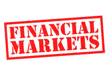 FINANCIAL MARKETS Royalty Free Stock Photography