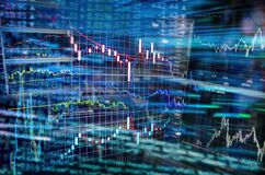 Financial Markets and Stock Exchanges stock photography