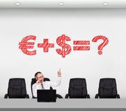 Financial matters Royalty Free Stock Image