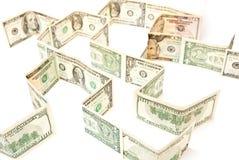 Financial Maze Stock Photography