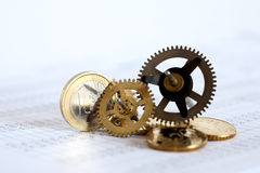 Financial Mechanism Royalty Free Stock Photography