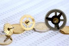 Financial Mechanism Stock Photo