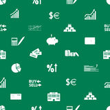 Financial and money pattern eps10. Green financial and money pattern eps10 Royalty Free Stock Images