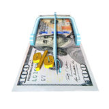 Financial mousetrap Royalty Free Stock Images