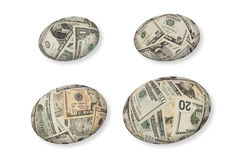 Financial nest eggs Royalty Free Stock Photos