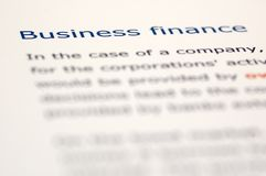 Financial News Stock Photos