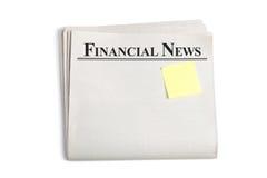 Financial News Royalty Free Stock Photos