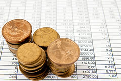 Financial Objects Royalty Free Stock Image