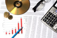 Financial Or Accounting Concept Royalty Free Stock Photo