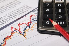 Financial Or Accounting Concept Stock Photo