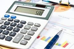 Financial paper Stock Photos