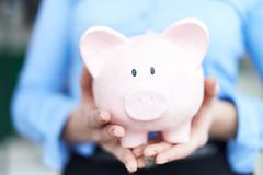Financial piggy Royalty Free Stock Images