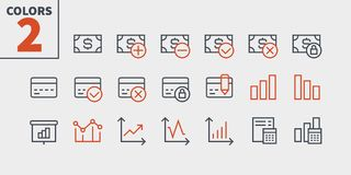 Financial Pixel Perfect Well-crafted Vector Thin Line Icons 48x48 Ready for 24x24 Grid for Web Graphics and Apps with. Editable Stroke. Simple Minimal Pictogram Stock Photo