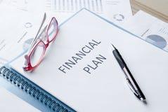 Financial plan Stock Photos