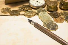 Financial plan Stock Image