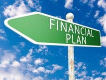 Financial Plan Royalty Free Stock Image