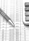 Financial planing Stock Images