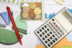Financial planning. Royalty Free Stock Image