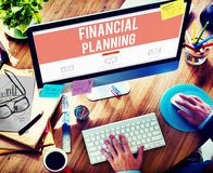 Financial Planning Accounting Investment Estate Concept Royalty Free Stock Images