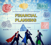Financial Planning Banking Bookkeeping Money Concept. Financial Planning Banking Money Concept stock photos