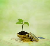 Financial planning and banking related series Stock Photography