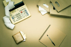 Financial Planning Royalty Free Stock Photography