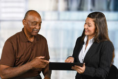 Financial Planning Retirement Royalty Free Stock Photography
