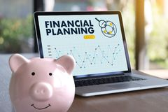 Financial planning Retirement planning woman and man at retireme. Nt  with consultant or adviser Royalty Free Stock Photos