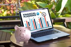 Financial planning Retirement planning woman and man at retireme. Nt  with consultant or adviser Stock Image