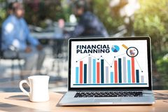 Financial planning Retirement planning woman and man at retireme. Nt  with consultant or adviser Royalty Free Stock Photo