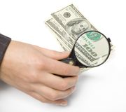 Financial problem. Global business money Royalty Free Stock Photos