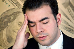 Financial Problems Royalty Free Stock Images