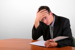 Financial problems Stock Image