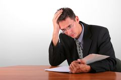 Financial problems Stock Photography