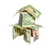 Financial pyramid Royalty Free Stock Photos