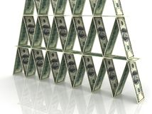 Financial pyramid Stock Photography