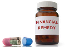 Financial remedy Royalty Free Stock Photography